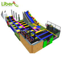 Large indoor kids trampoline park cost